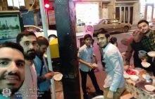 ایستگاه پخش افطاری ساده مقابل مسجد سادات اخوی سال 98