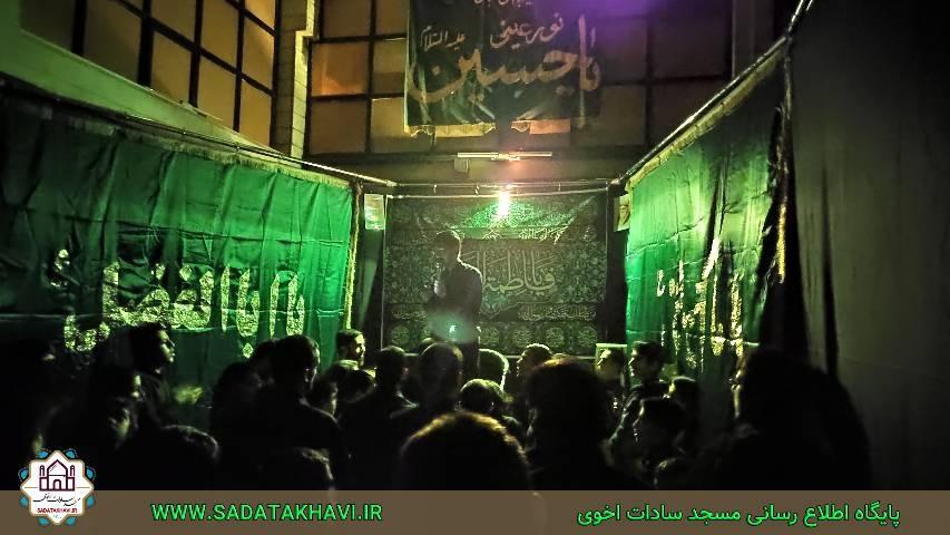 تصاویر برنامه های ۲۸ صفر سال ۹۸ بسیج مسجد سادات اخوی